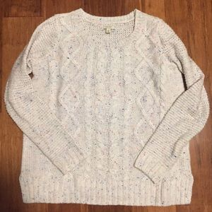 Sonoma Speckled Knit Sweater